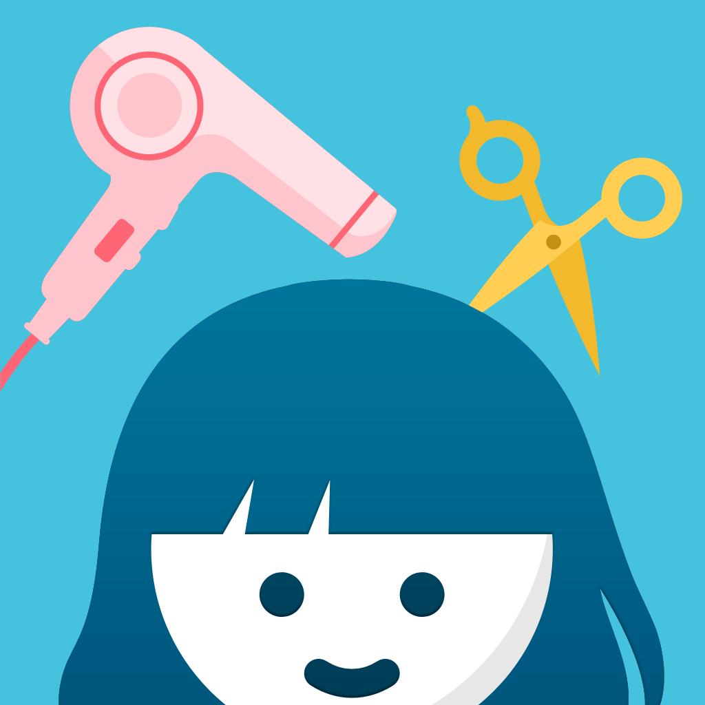 美容室に無料で行けるカットモデルアプリ minimo(ミニモ)